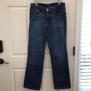 David Kahn bootleg jeans 28x30